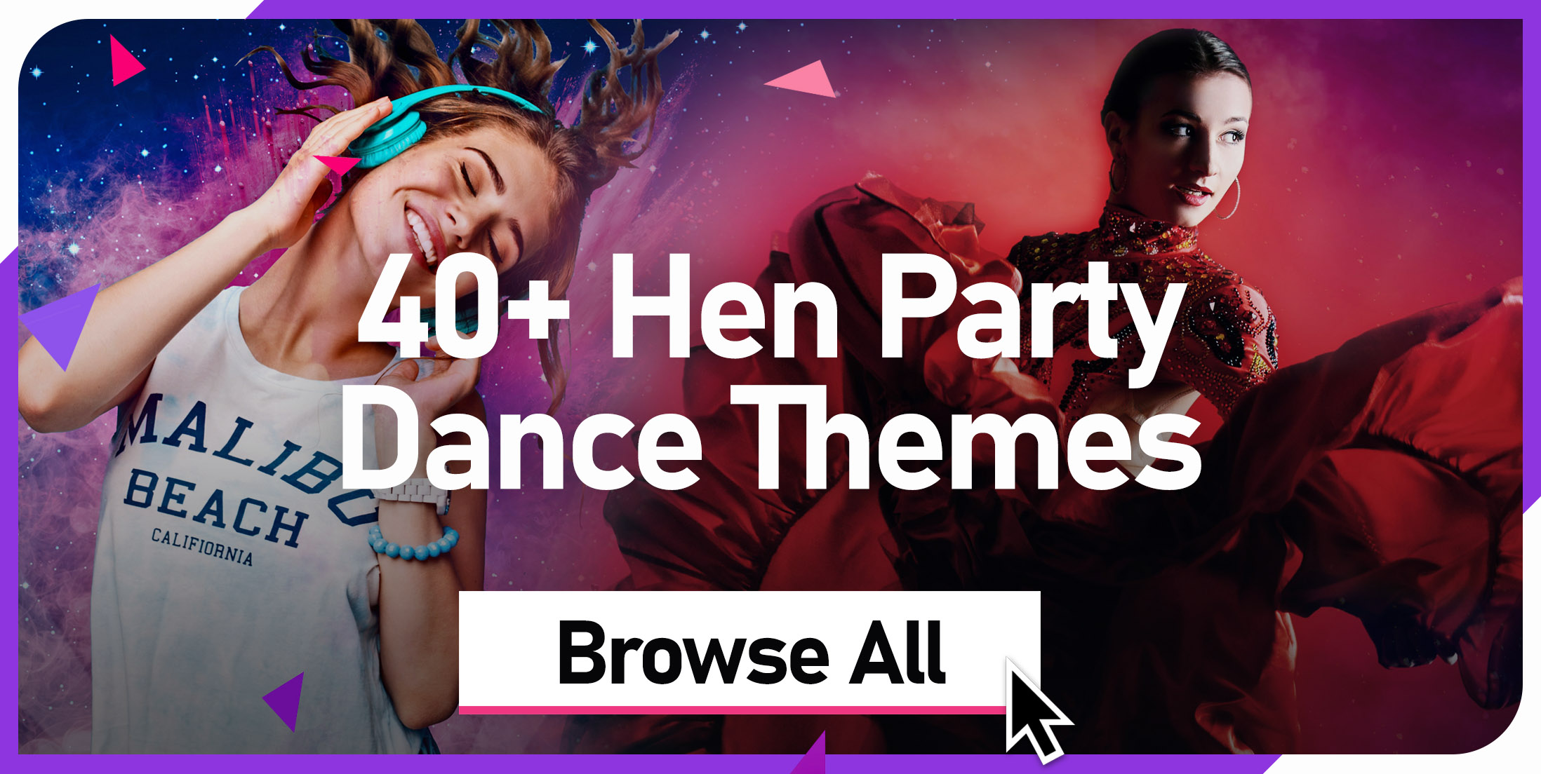 40+ Hen Party Dance Themes