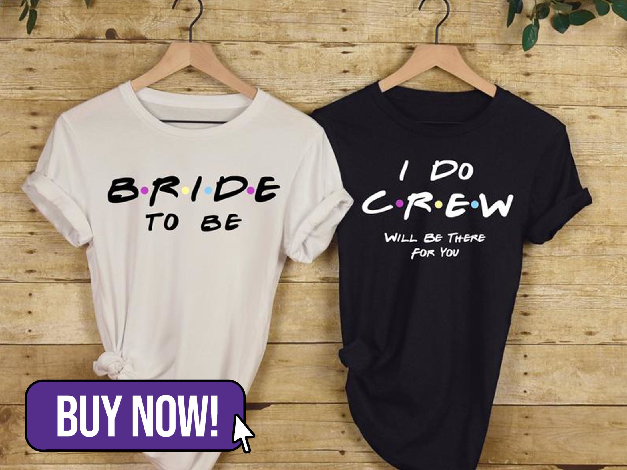 Friends Style Personalised Hen Party Tshirts